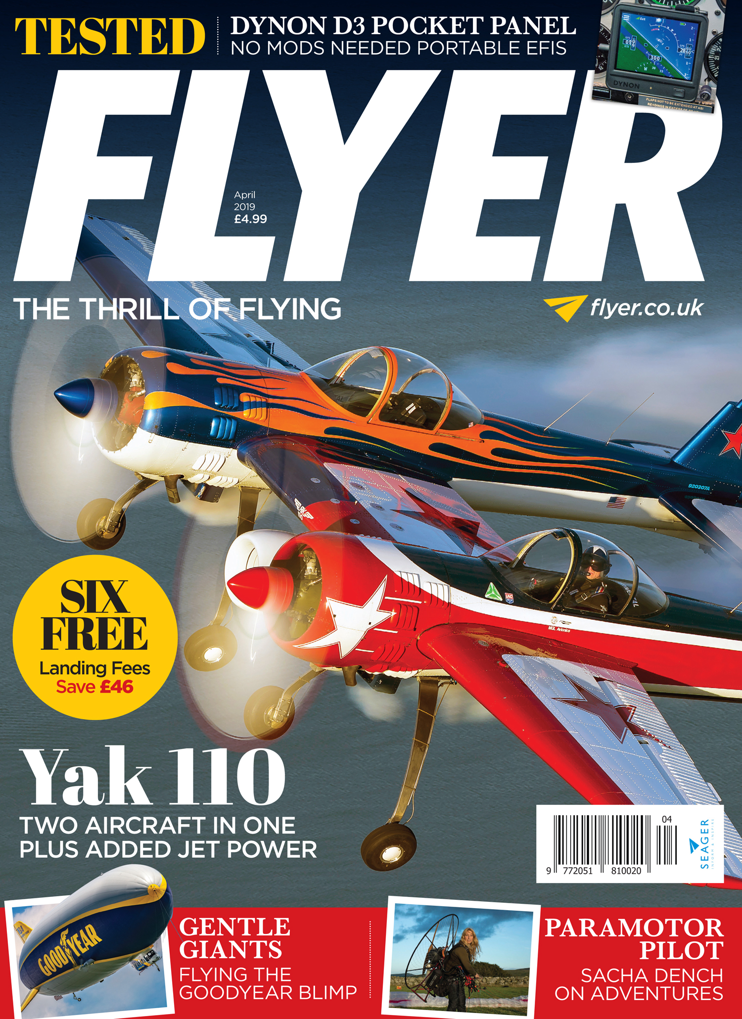 FLYER magazine April 2019