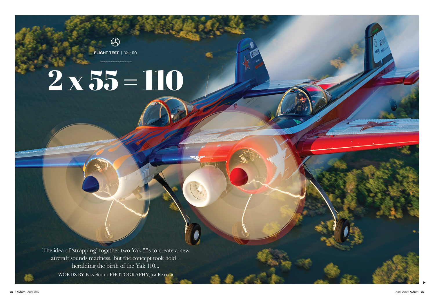 Yak 110 Flyer April 2019
