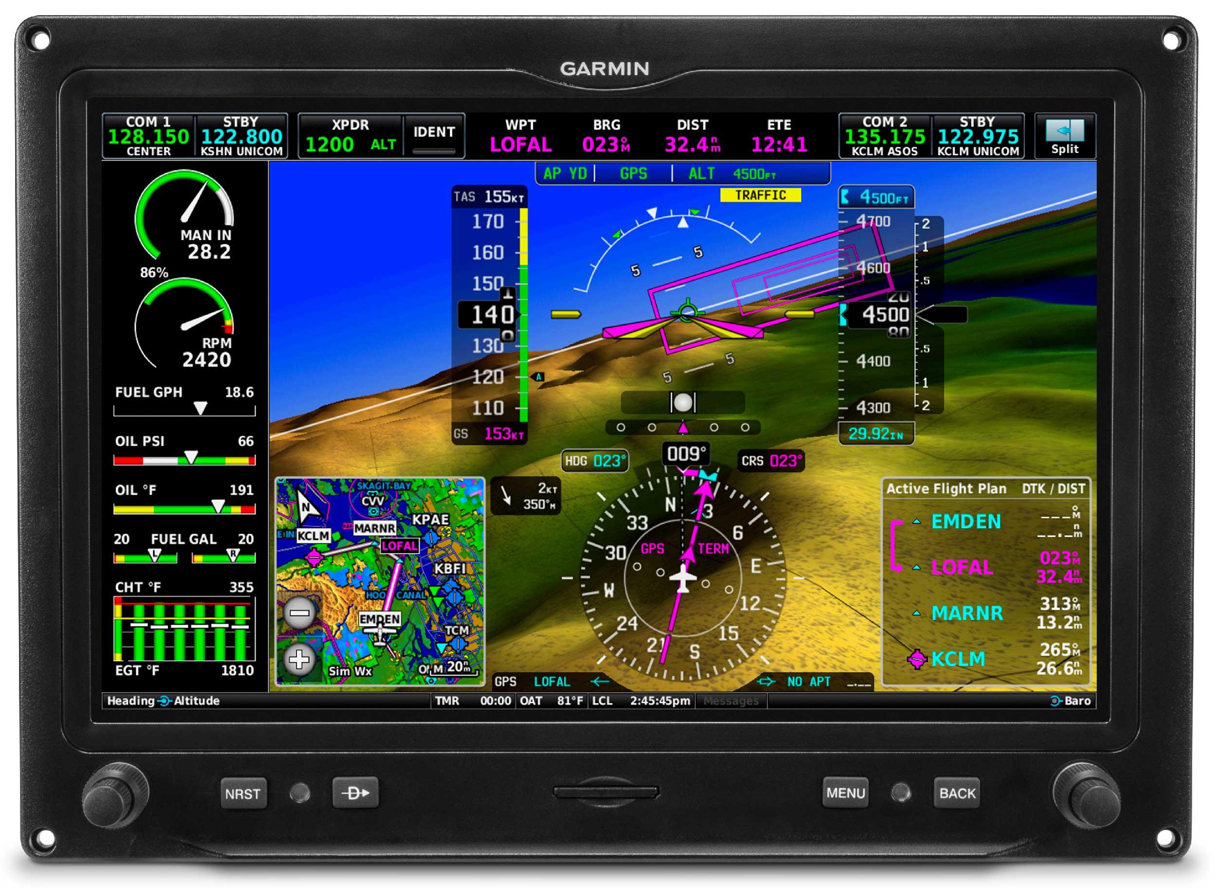Garmin certifies G3X Touch, launches new navigator units - FLYER