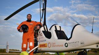 James Ketchell gyrocopter