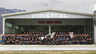 Pipistrel 1,000th aircraft