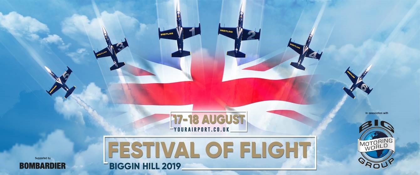Biggin Hill Festival Of Flight >> Festival of Flight 2019, Biggin Hill - FLYER