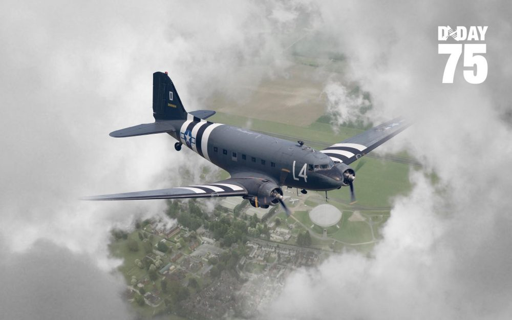 D-Day75 Daks over Duxford