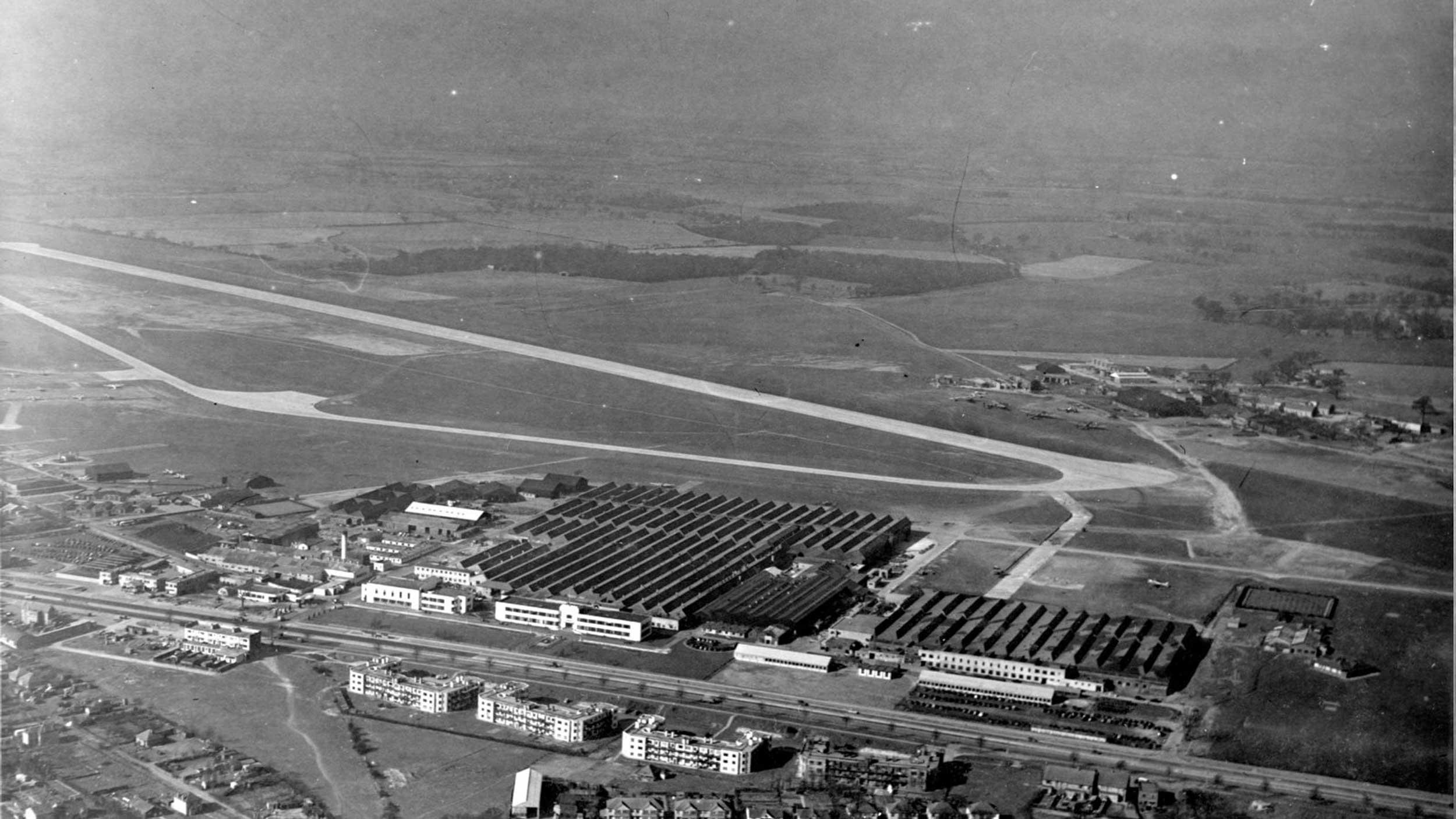 Hatfield Aerodrome 1948