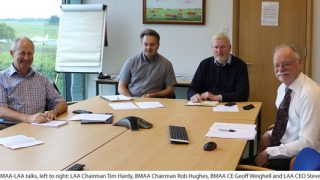 BMAA & LAA talks
