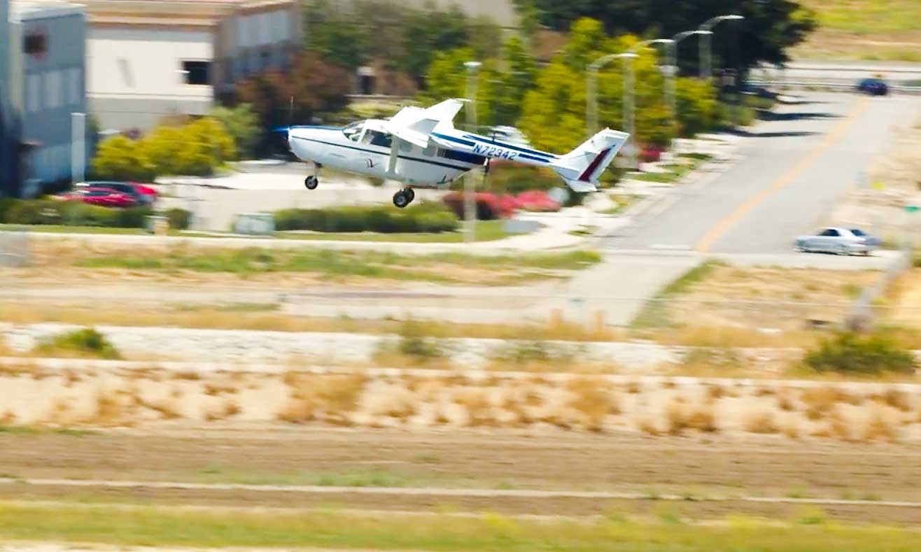 Ampaire hybrid-electric Cessna