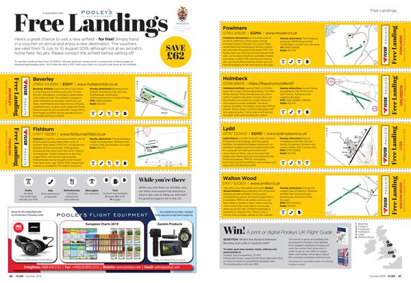 Free landings