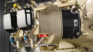 Continental engine for Cessna 172