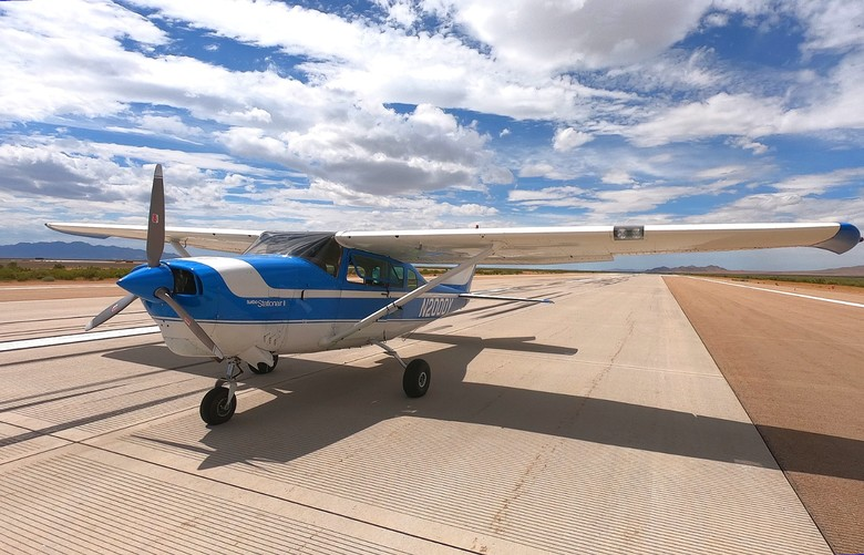 ROBOpilot flies Cessna 206