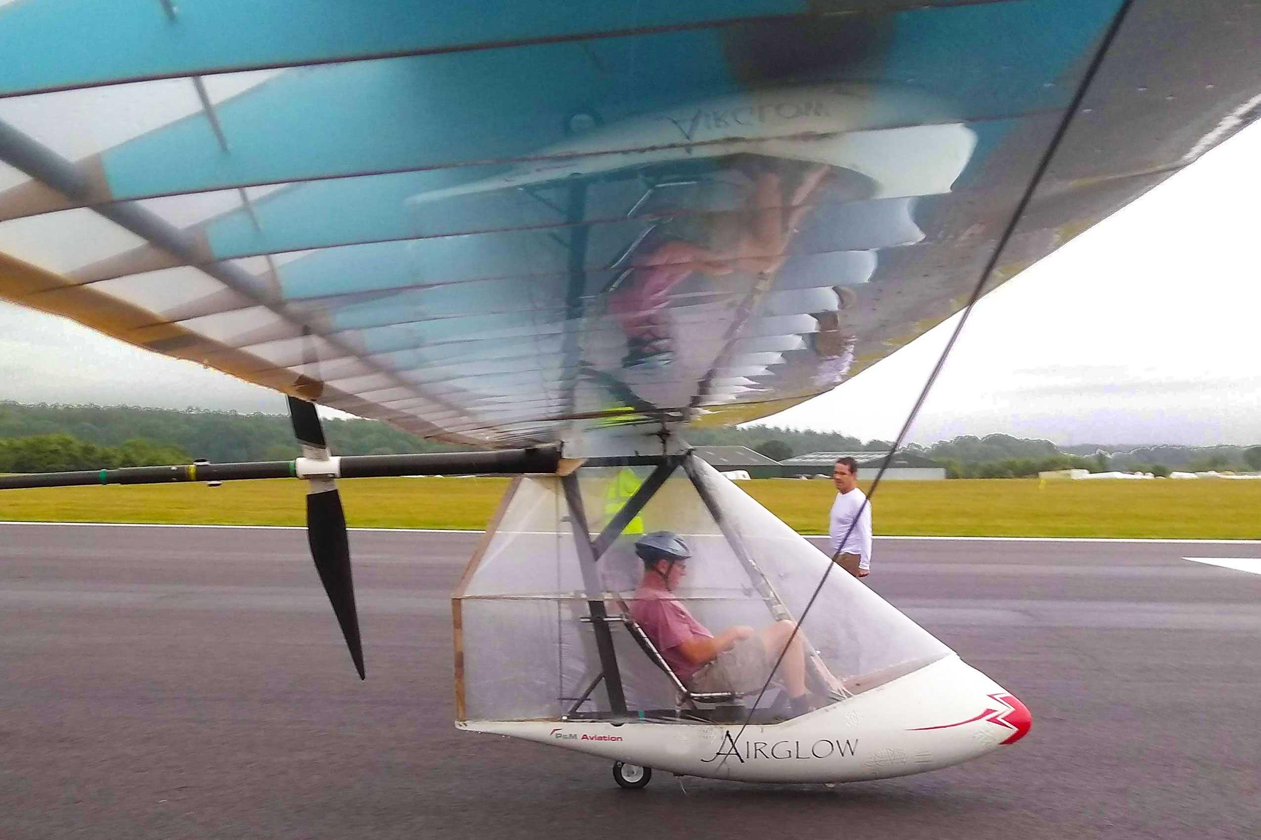 human power flight