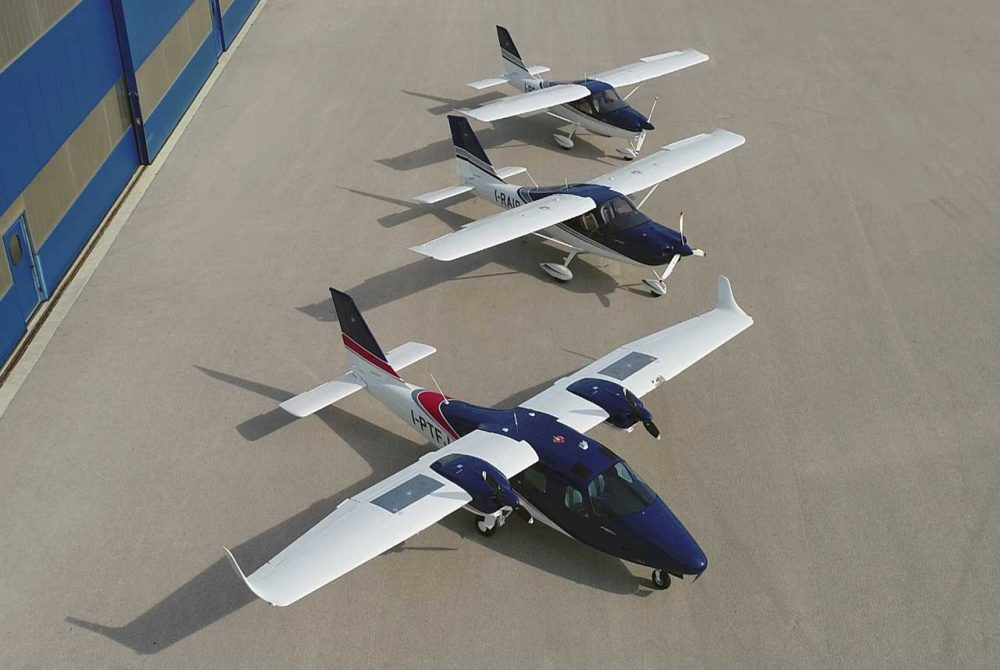 Tecnam aircraft