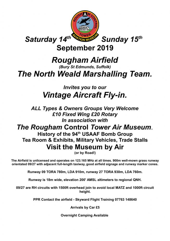 Rougham Vintage Fly-in