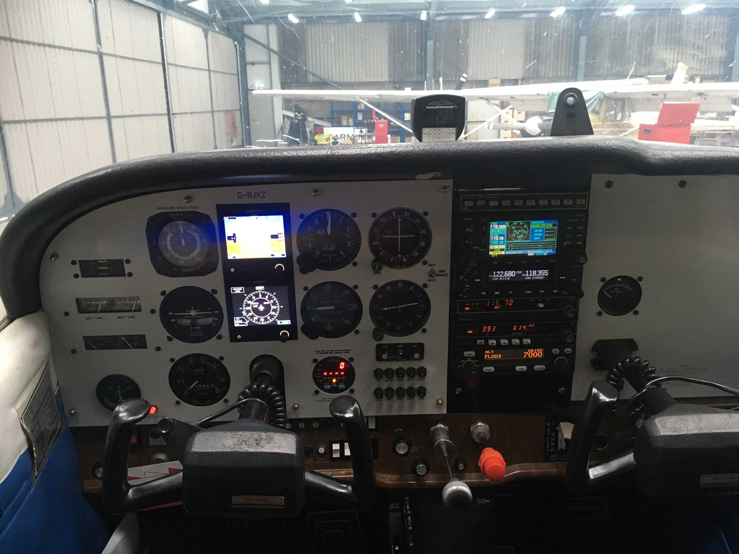Airspeed Aviation Cessna 172 avionics
