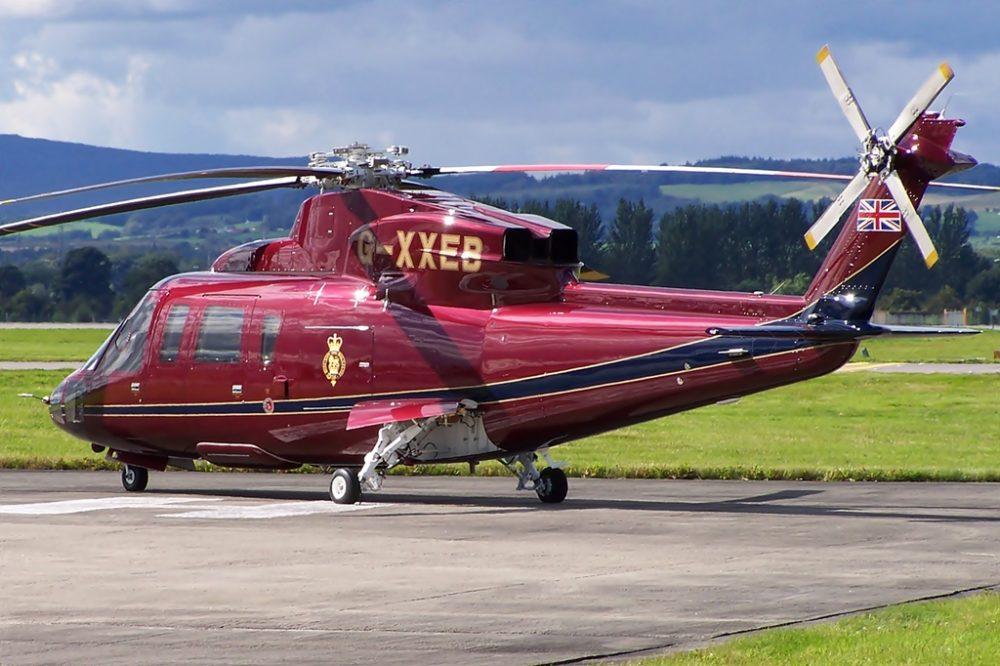 Queen's Flight Sikorsky S-76C++