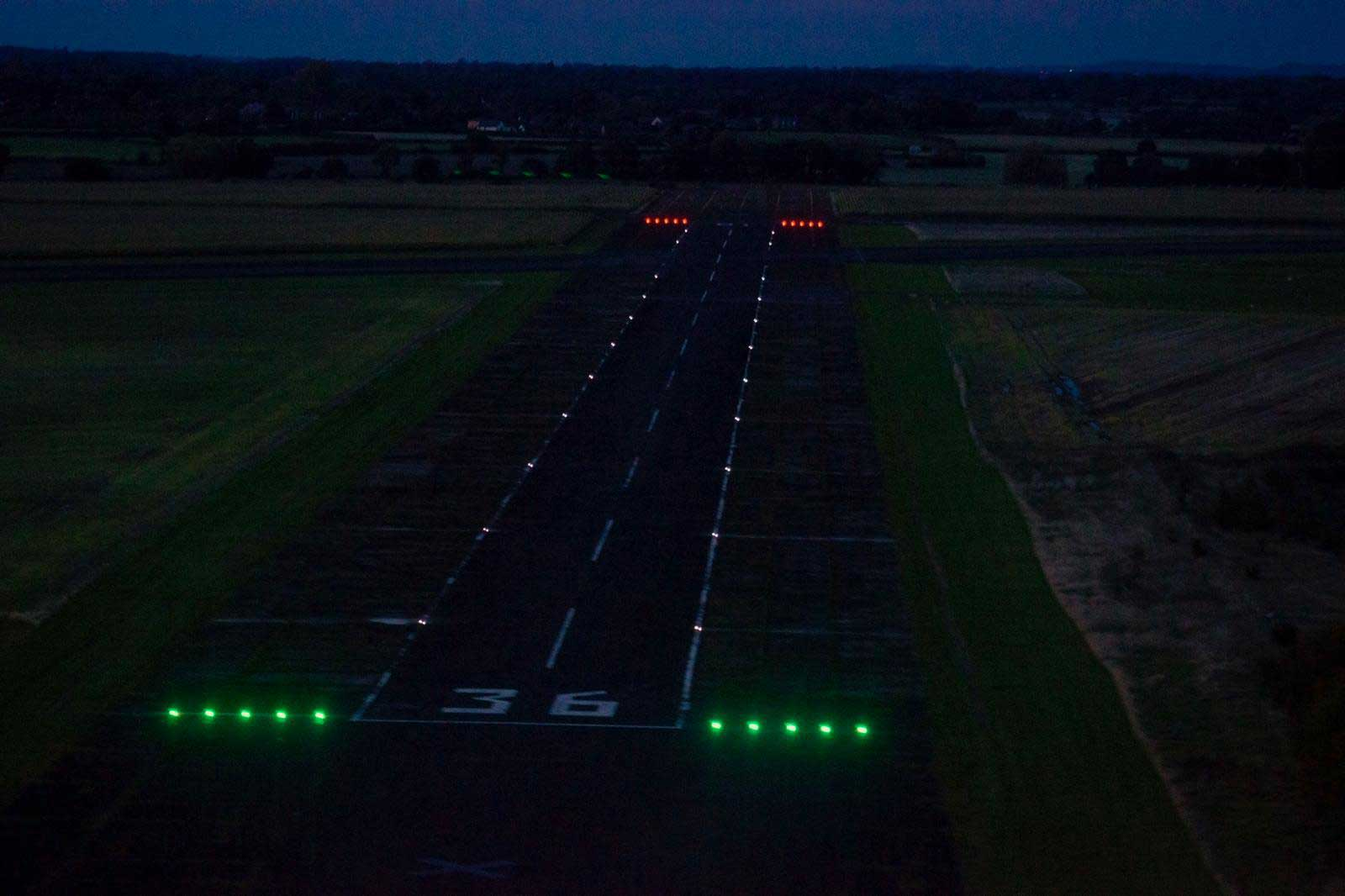 Sleap LED runway lights