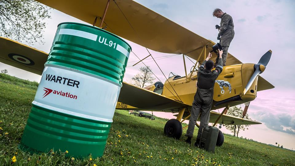 Warter aviation fuel