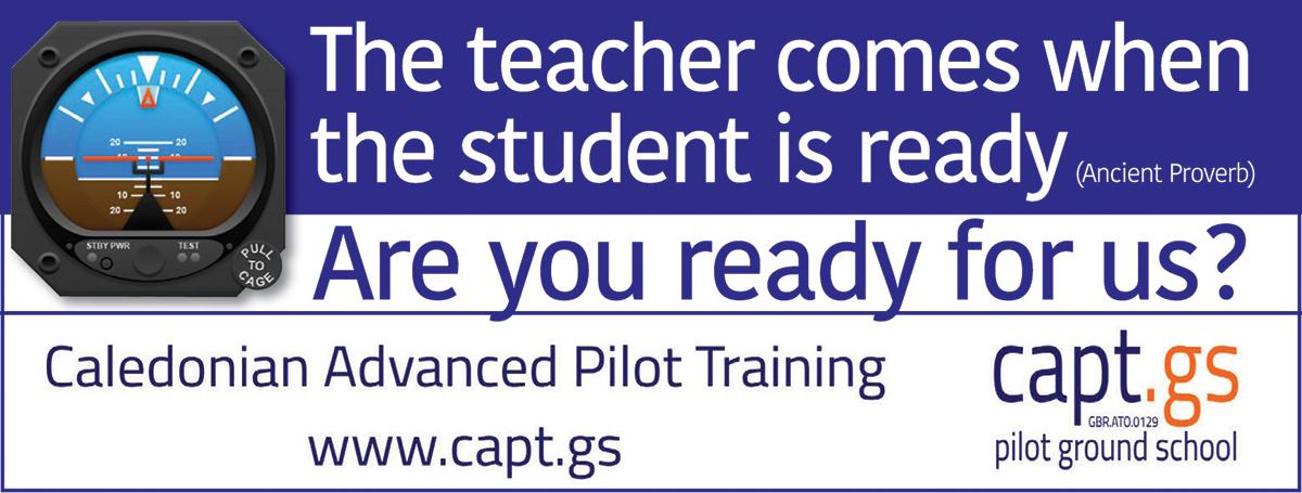 Caledonian Advanced Pilot Training