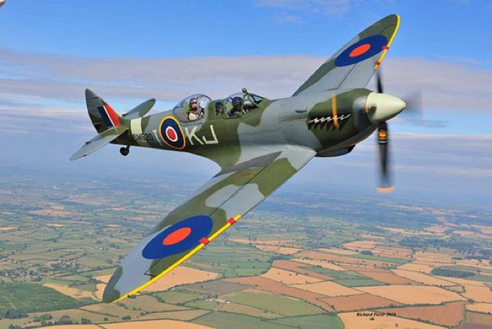 Win a Spitfire flight