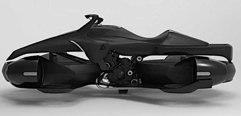 Xturismo flying bike