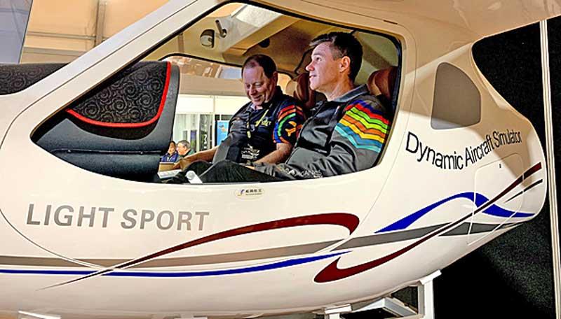 AeroJones CTLS flight sim