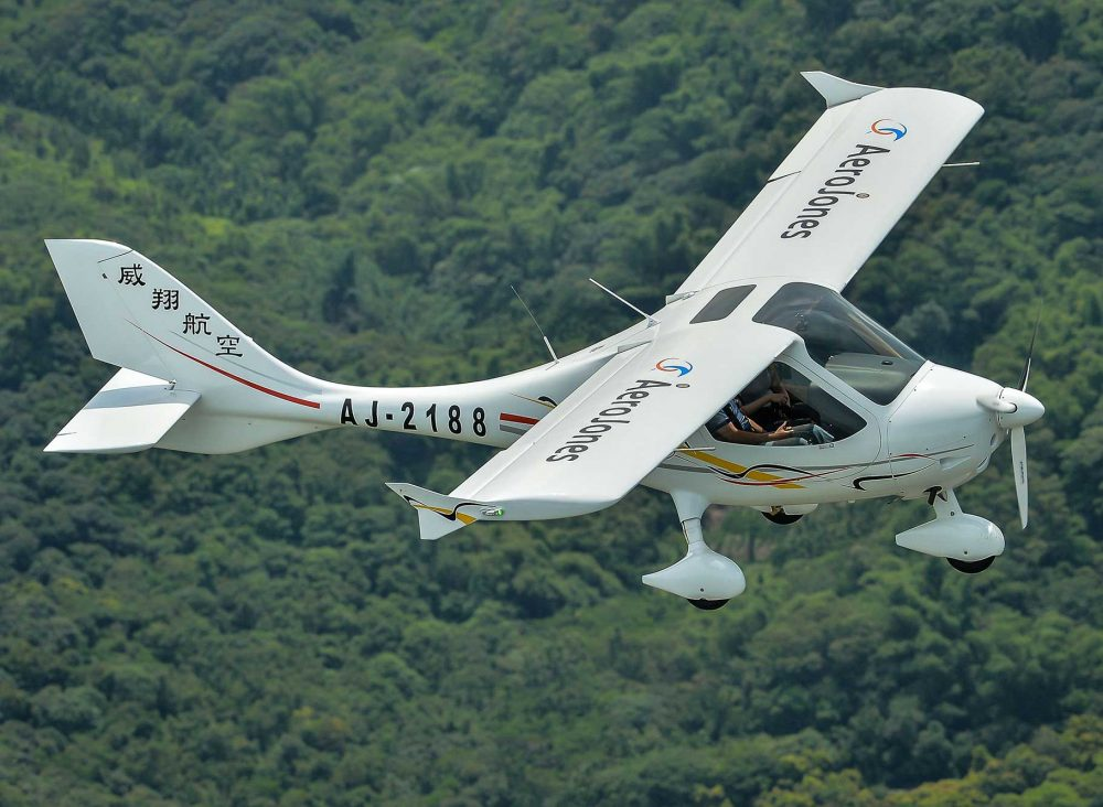 Flight Design CTLS AeroJones
