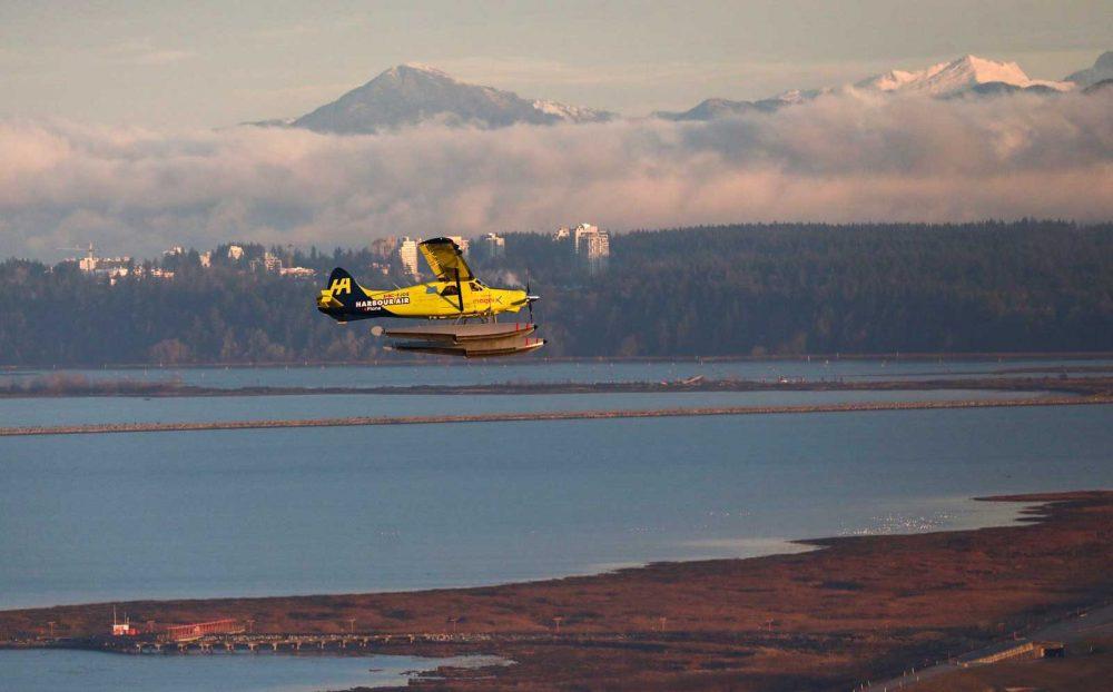 Harbour Air first flight