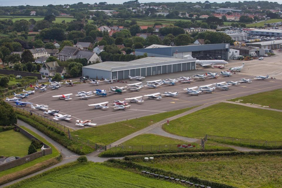 Guernsey air rally