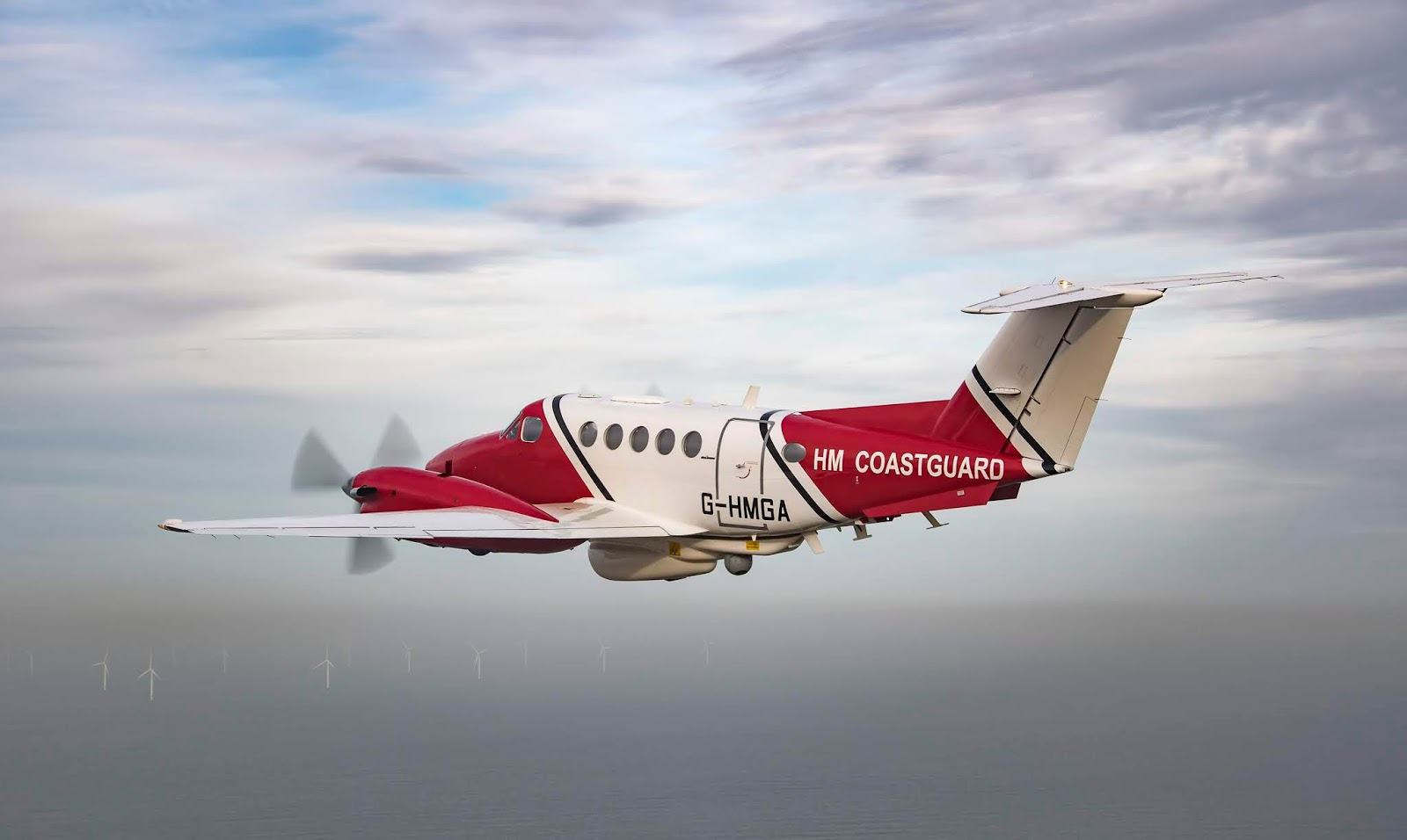 Coastguard King Air