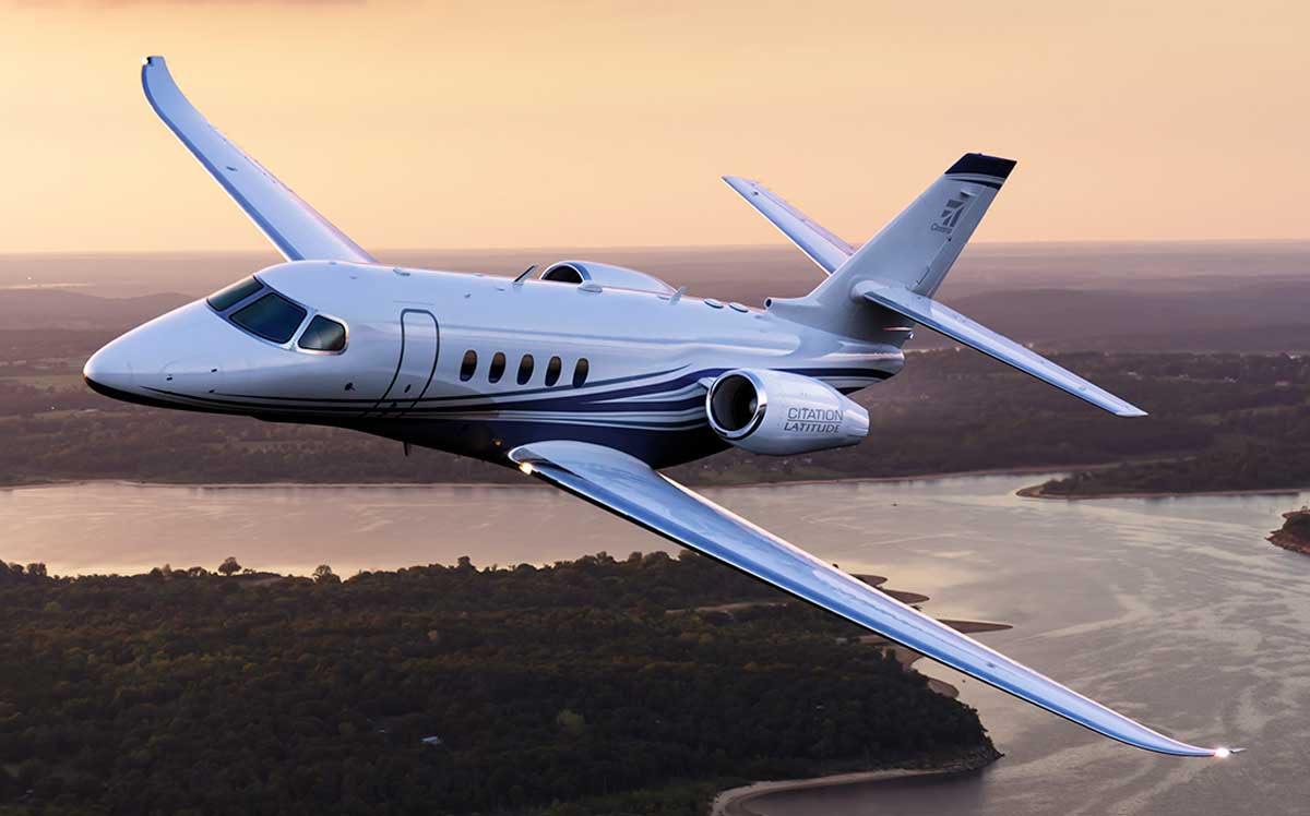 Cessna Latitude jet