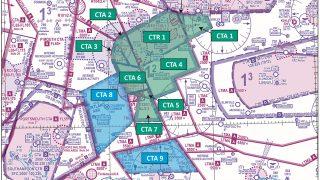 Farnborough controlled airspace