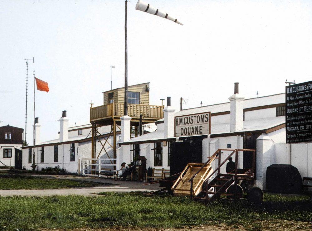 Croydon air traffic control tower 1920