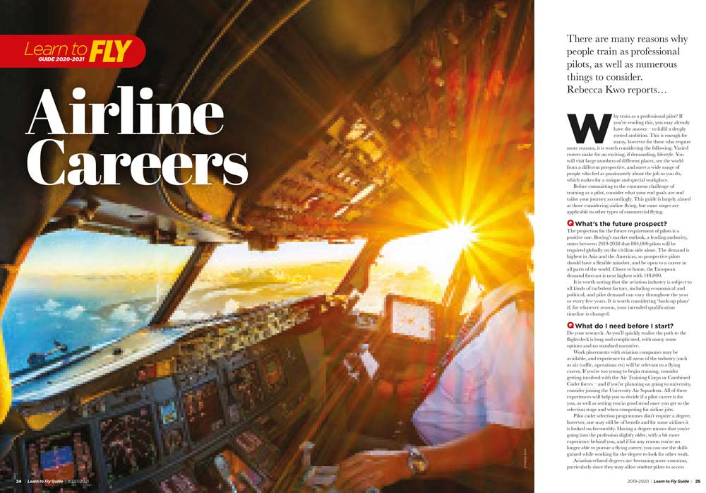 How to become an airline pilot career