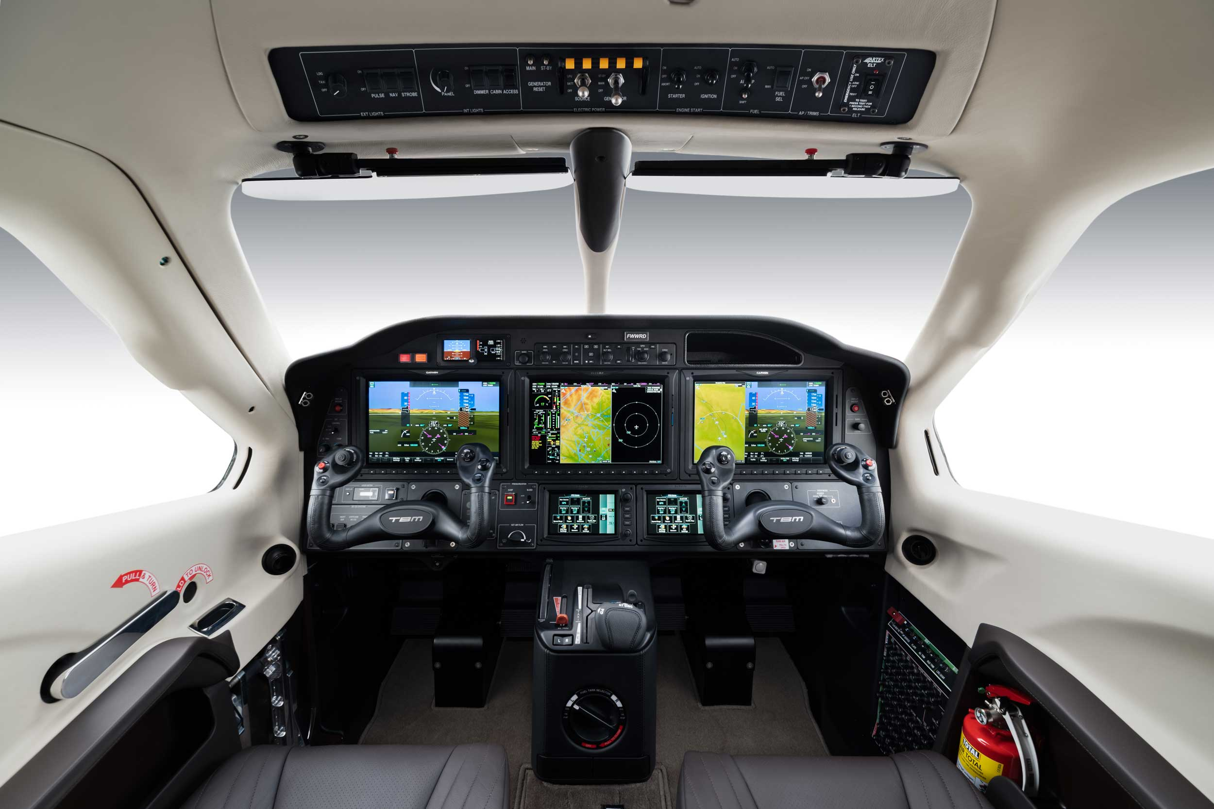 TBM 940 cockpit