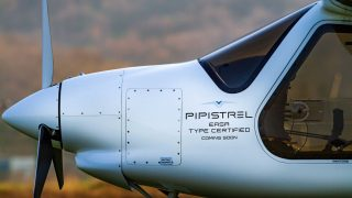 Pipistrel Velis electric aircraft