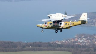 Dornier Seastar first flight