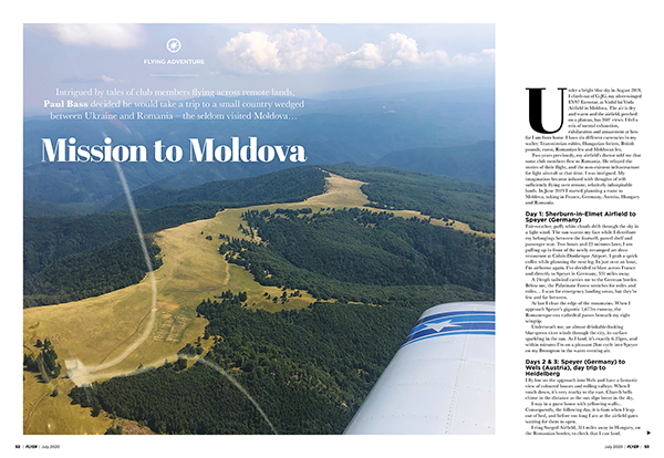 Mission to Moldava