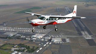 MagniX eCaravan first flight