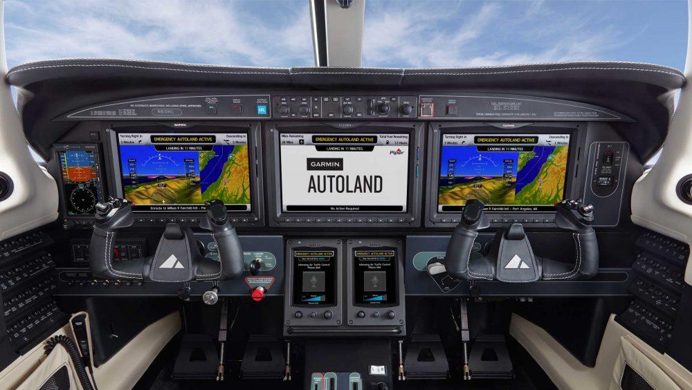 Garmin Autoland Piper M600