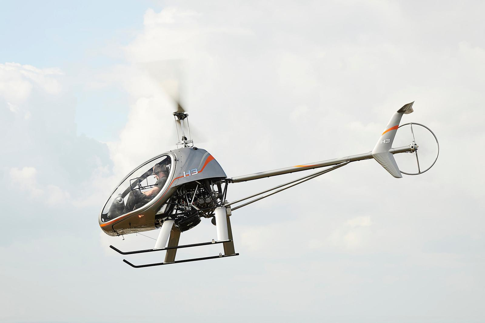 Dynali H3 helicopter