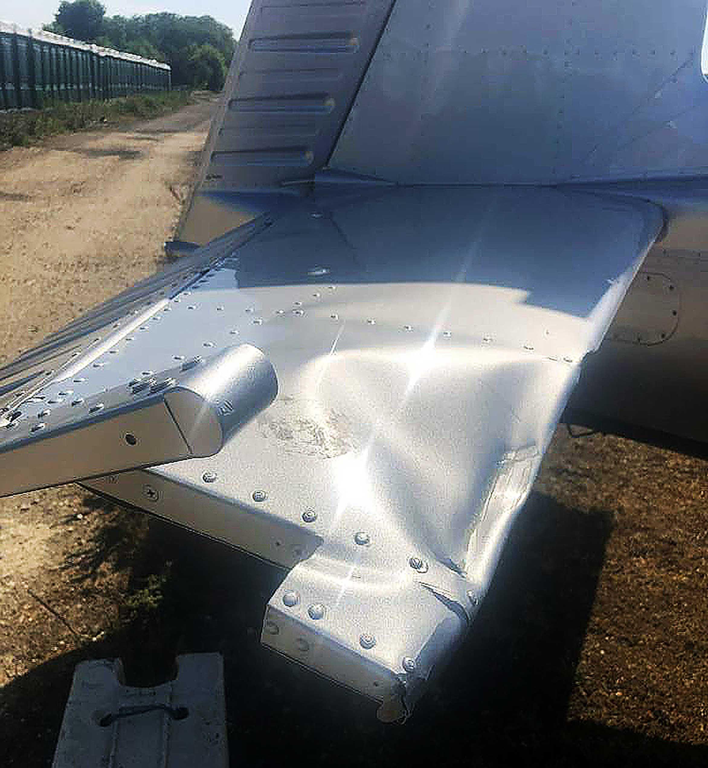 Mooney bucked tailplane