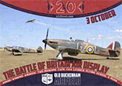 Old Buckenham Battle of Britain airshow 2020