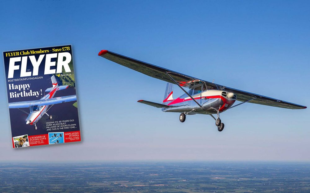 FLYER magazine Cessna 172 serial number 1