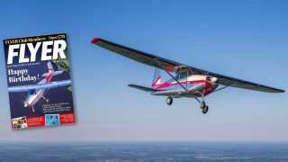 FLYER magazine Cessna 172 serial number 1