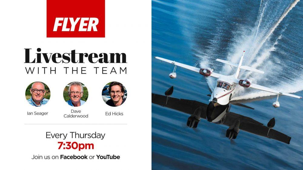 Flyer magazine livestream