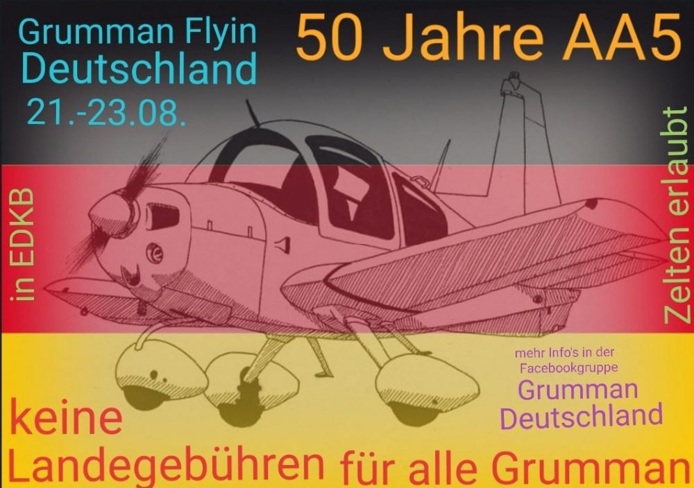 Grumman AA-5 50 years