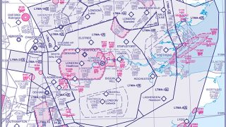 London TMA airspace
