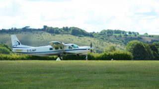 Old sarum reopens for flying