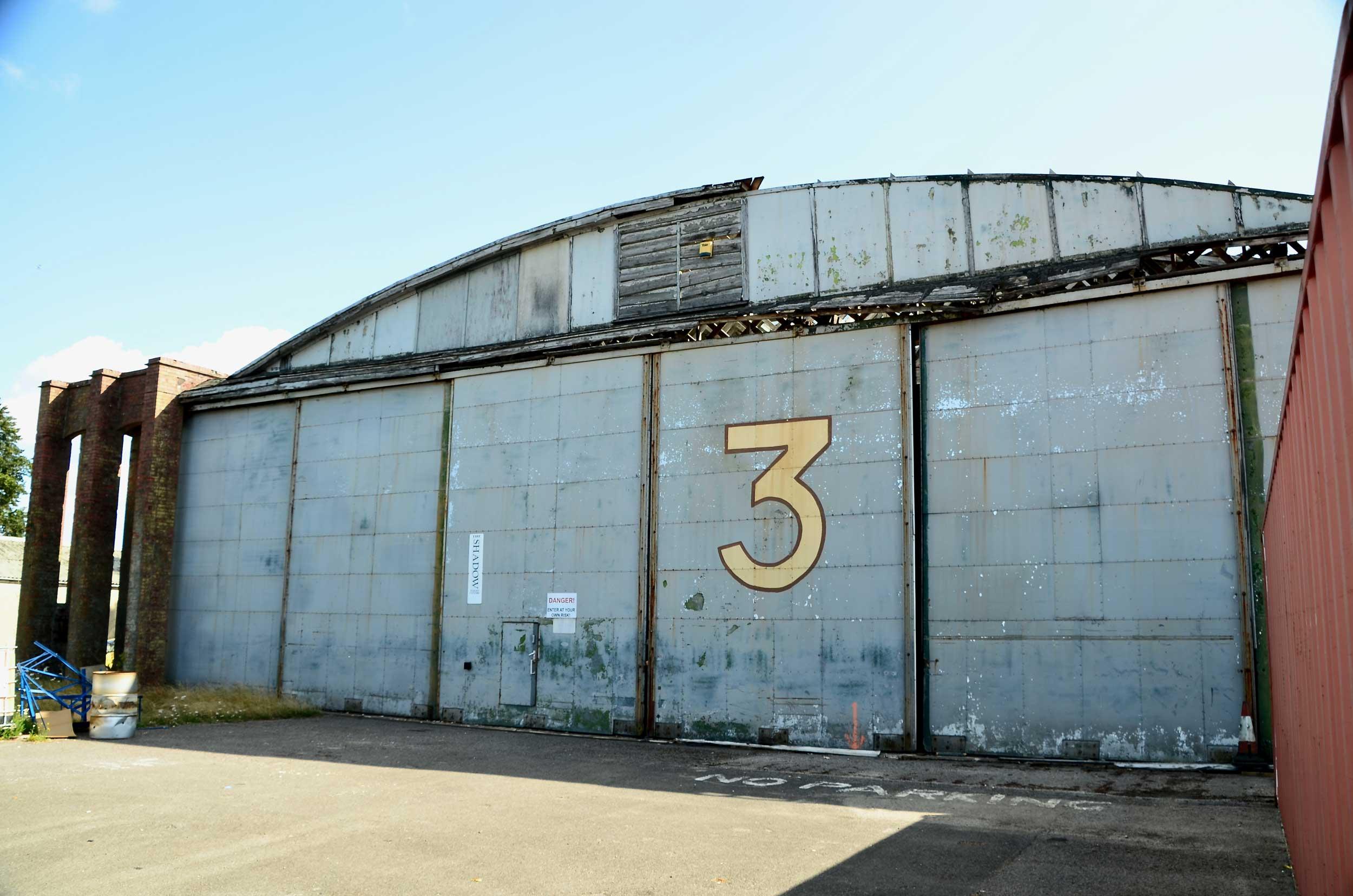 Hangar 3 Old Sarum