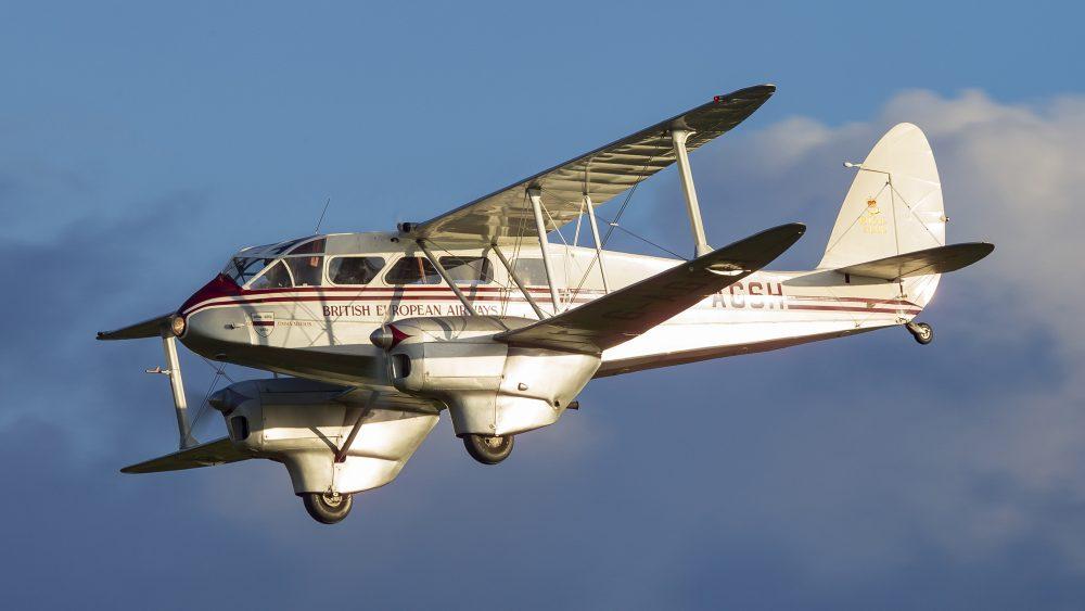 Shuttleworth de Havilland airshow