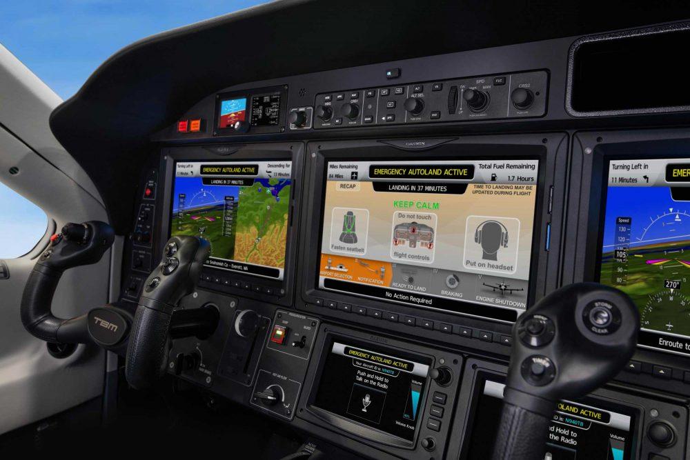 TBM 940 Autoland